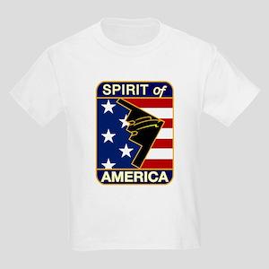 B-2 Stealth Bomber Kids Light T-Shirt