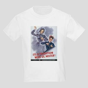Women WII Kids Light T-Shirt