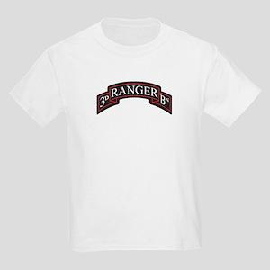 3D Ranger BN Scroll Kids Light T-Shirt