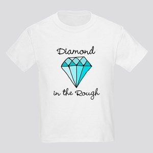 'Diamond in the Rough' Kids Light T-Shirt