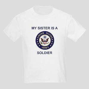 172nd Stryker Bde <BR>&quot;My Sister&quot; Kids T-Shirt 2