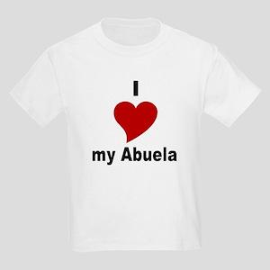 I Love My Abuela Kids T-Shirt