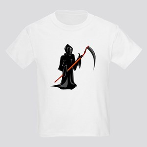Grim Reaper  Kids Light T-Shirt