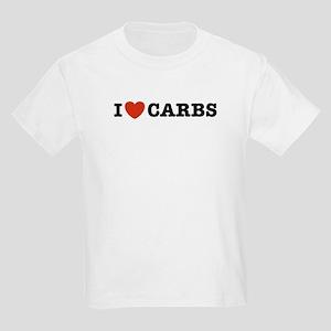 I Love Carbs Kids T-Shirt