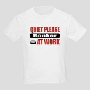 Banker Work Kids Light T-Shirt