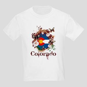Butterfly Colorado Kids Light T-Shirt