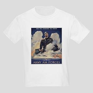 Ramparts We Watch (Front) Kids T-Shirt
