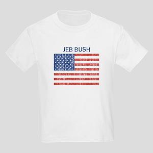 JEB BUSH (Vintage flag) Kids T-Shirt