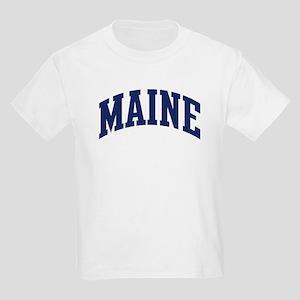 Blue Classic Maine Kids T-Shirt