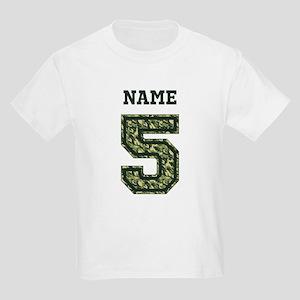 Personalized Camo 5 T-Shirt