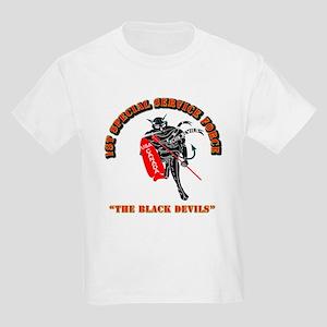 SOF - 1st SSF - Black Devils Kids Light T-Shirt