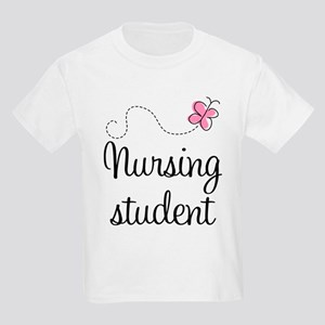 Nursing School Student Kids Light T-Shirt