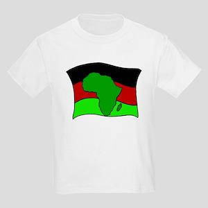 African Flag Kwanzaa Kids T-Shirt