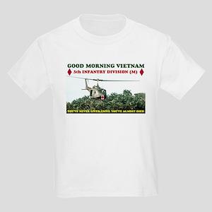 5th INFANTRY DIV VIETNAM Kids Light T-Shirt
