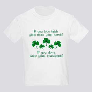 Raise Your Hands for Irish Girls T-Shirt