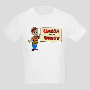 Umoja means Unity - Kwanzaa Kids T-Shirt