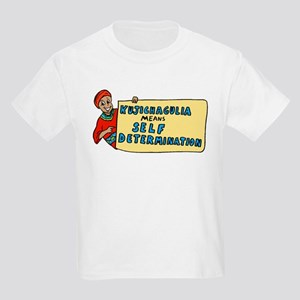 Kujichagulia means Self Deter Kids T-Shirt