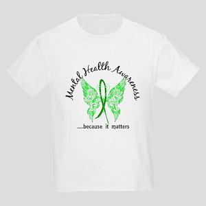 Mental Health Butterfly 6.1 Kids Light T-Shirt