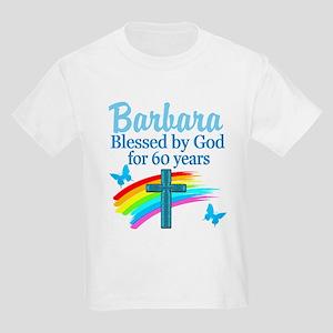 DELIGHTFUL 60TH Kids Light T-Shirt
