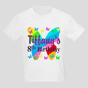HAPPY 8TH Kids Light T-Shirt