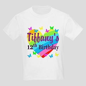 PERSONALIZED 12TH Kids Light T-Shirt
