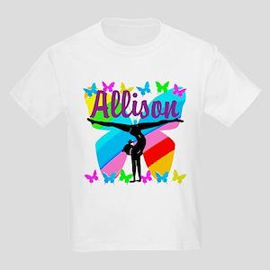 PERSONALIZE GYMNAST Kids Light T-Shirt