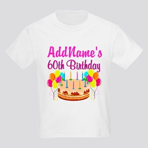AMAZING 60TH Kids Light T-Shirt