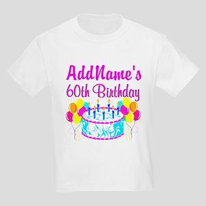 AWESOME 60TH Kids Light T-Shirt