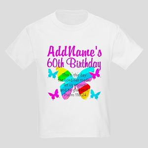 UPLIFTING 60TH Kids Light T-Shirt