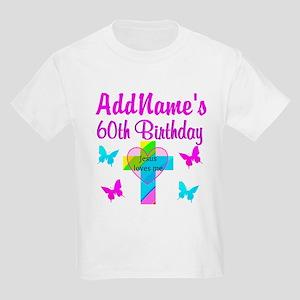 REJOICING 60TH Kids Light T-Shirt