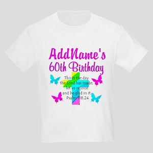 GOD LOVING 60TH Kids Light T-Shirt