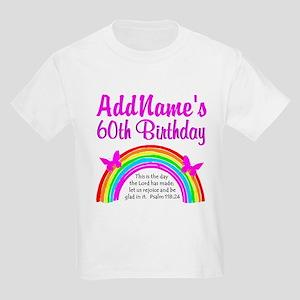BLESSED 60TH Kids Light T-Shirt