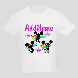 CHEERING GIRL Kids Light T-Shirt