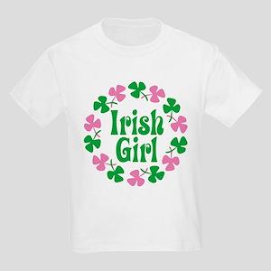 Irish Girl Kids Light T-Shirt