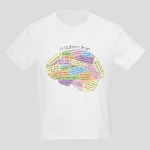 Quilter's Brain Kids Light T-Shirt