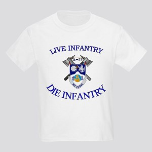 1st Bn 23rd Infantry Kids Light T-Shirt