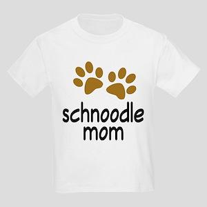 Cute Schnoodle Mom Kids Light T-Shirt