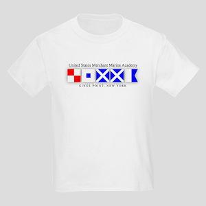 USMMA Signal Flags Kids Light T-Shirt