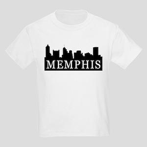 Memphis Skyline Kids Light T-Shirt