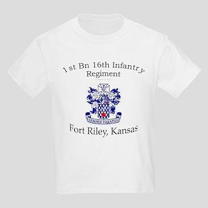 1st Bn 16th Infantry Kids Light T-Shirt