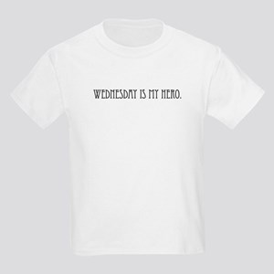 Wednesday is my Hero Kids Light T-Shirt