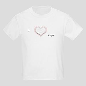 I heart Pugs Kids T-Shirt