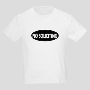 No Soliciting Kids Light T-Shirt