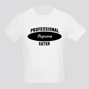 Pro Popcorn eater Kids Light T-Shirt