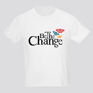 Be the Change - Earth - Red Vine Kids Light T-Shir