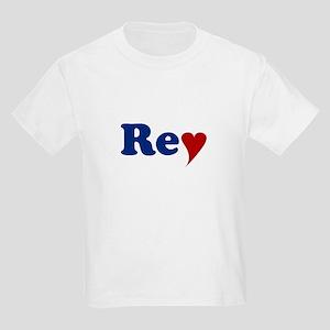 Rey with Heart Kids Light T-Shirt