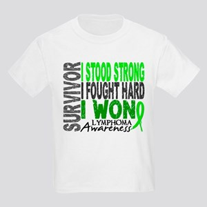 Survivor 4 Lymphoma Shirts and Gifts Kids Light T-