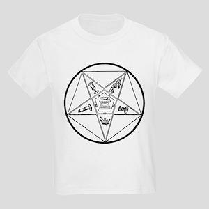 Order of the Eastern Star (bl Kids Light T-Shirt
