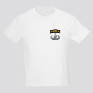 Senior Airborne Wings with Ai Kids Light T-Shirt