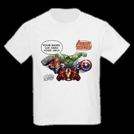 Avengers Personalized Kids T-shirt